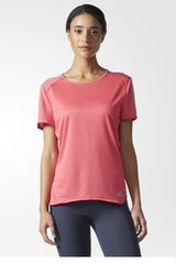 adidas Rosado de Mujer modelo RS SS TEE W Camisetas Deportivo