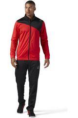Reebok Negro / Rojo de Hombre modelo TS TRICOT Buzos Deportivo
