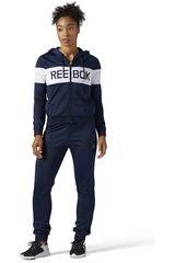 Reebok Azul / Blanco de Mujer modelo EL TS TRICOT Deportivo Buzos