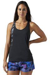 Reebok Negro de Mujer modelo AC TANK Deportivo Bividis