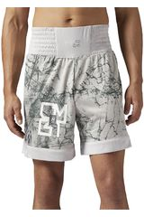 Reebok Blanco / Verde de Hombre modelo COMBAT PRIME BOXING SHORT Deportivo Shorts
