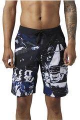 Reebok Negro / Blanco de Hombre modelo EPIC LIGHTWEIGHT SHORT Deportivo Shorts