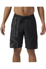 Reebok Negro / Plomo de Hombre modelo EPIC LIGHTWEIGHT SHORT Deportivo Shorts