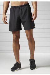 Reebok Negro de Hombre modelo RE 8 INCH SHORT Shorts Deportivo