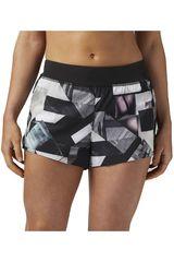 Reebok Negro / Blanco de Mujer modelo 3IN WOVEN SHORT - ORIGAMI Deportivo Shorts