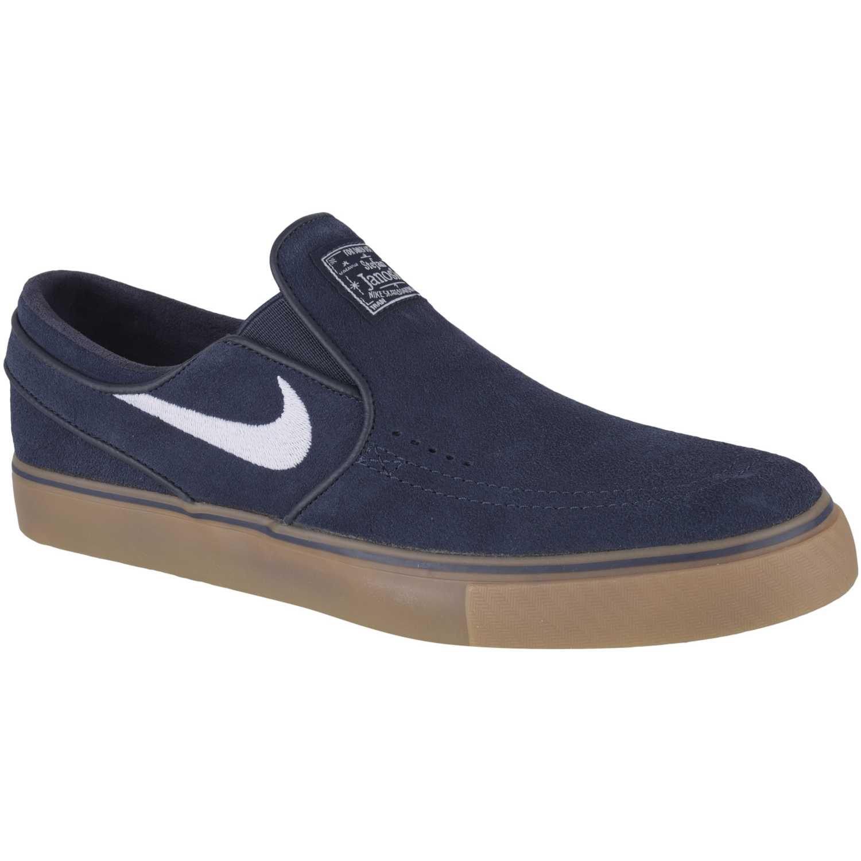 38233082b52 Zapatilla de Hombre Nike Azul   marrón zoom stefan janoski slip ...
