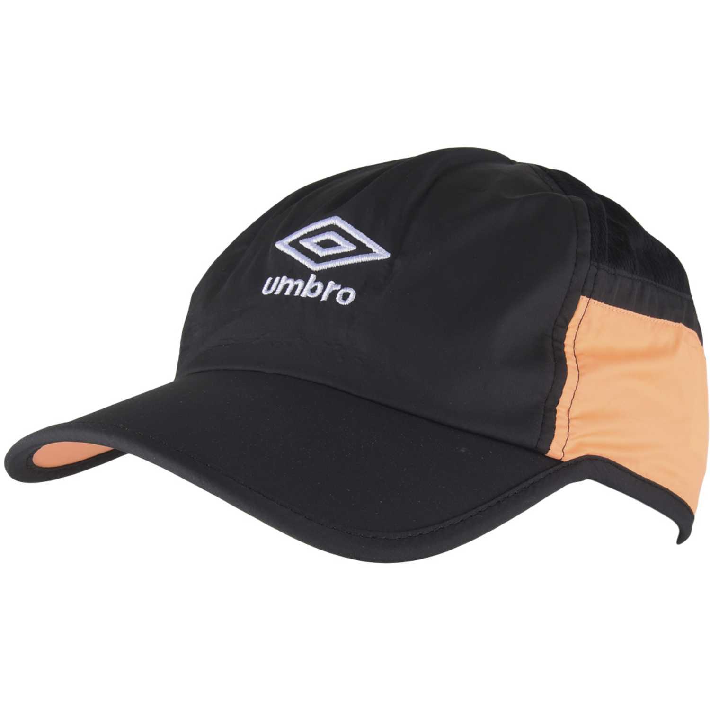 Gorro de Hombre Umbro Negro / naranja training cap