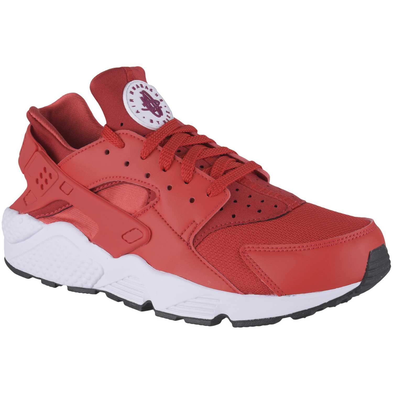 2a2721cab5d73 Zapatilla de Hombre Nike Rojo   blanco air huarache run