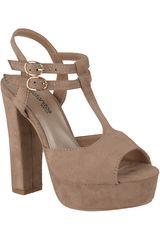 Sandalia Plataforma de Mujer Platanitos Topo SP-ZIZI05