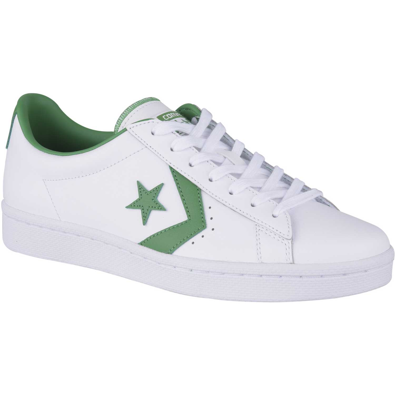 Zapatos blancos casual Converse Pro Leather para mujer