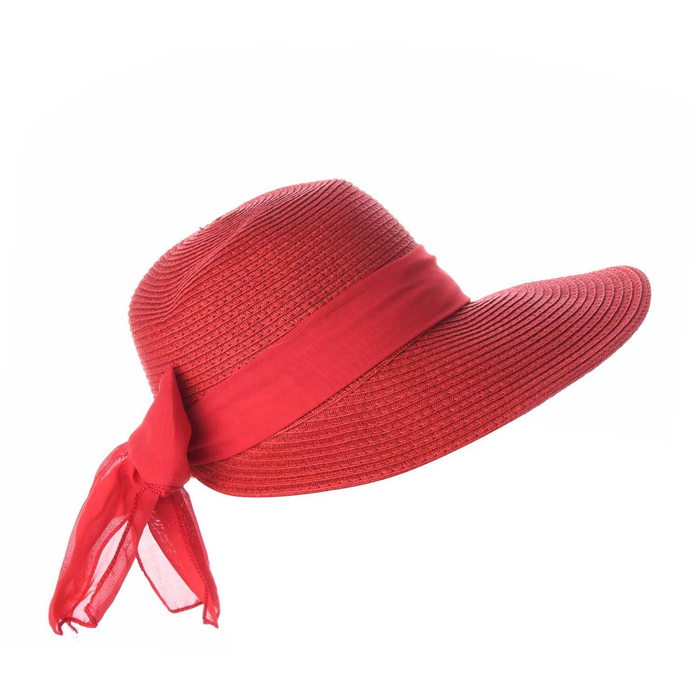 Sombrero de Mujer Platanitos Rojo t48-16