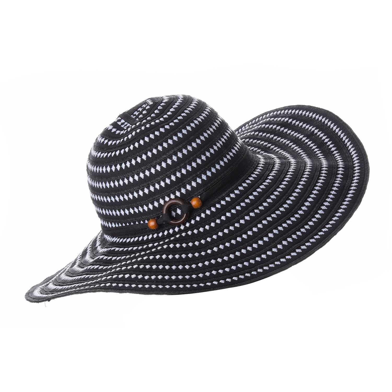 Sombrero de Mujer Platanitos Negro t7-156