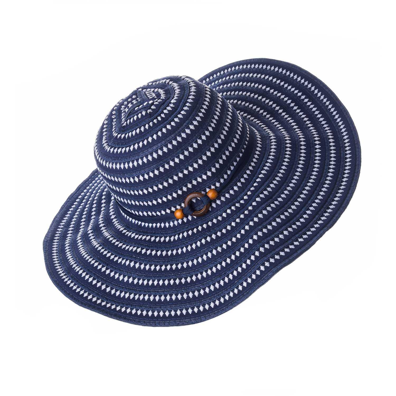 Sombrero de Mujer Platanitos Azul t7-156