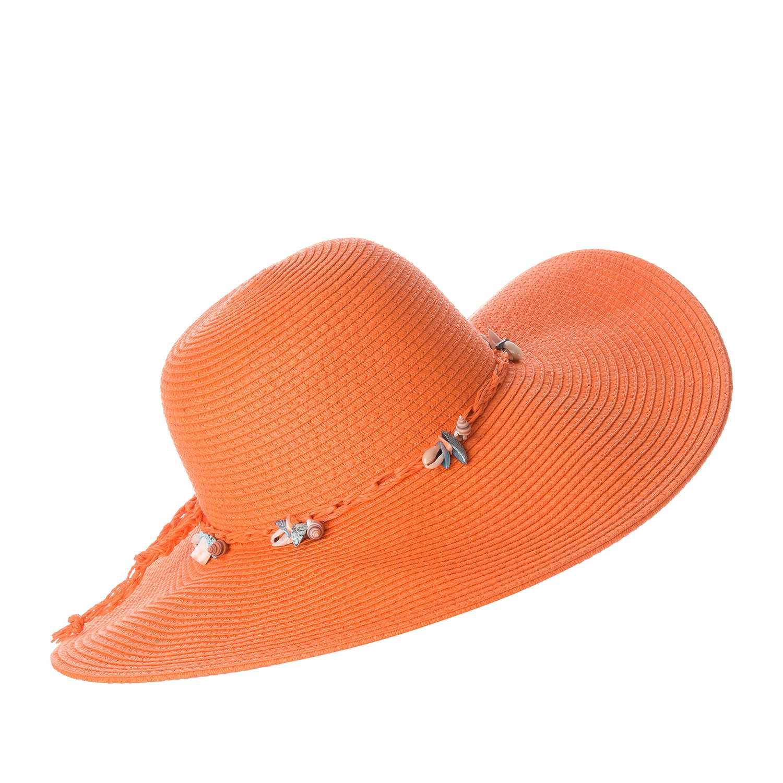 Sombrero de Mujer Platanitos Anaranjado t7-38