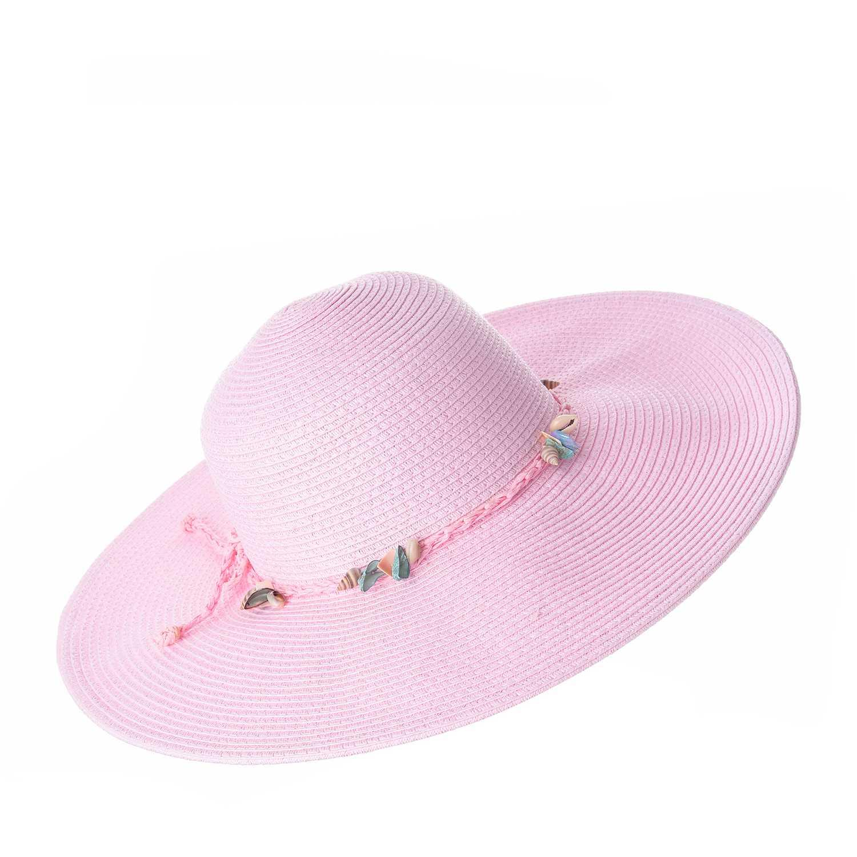 Sombrero de Mujer Platanitos Rosado t7-38