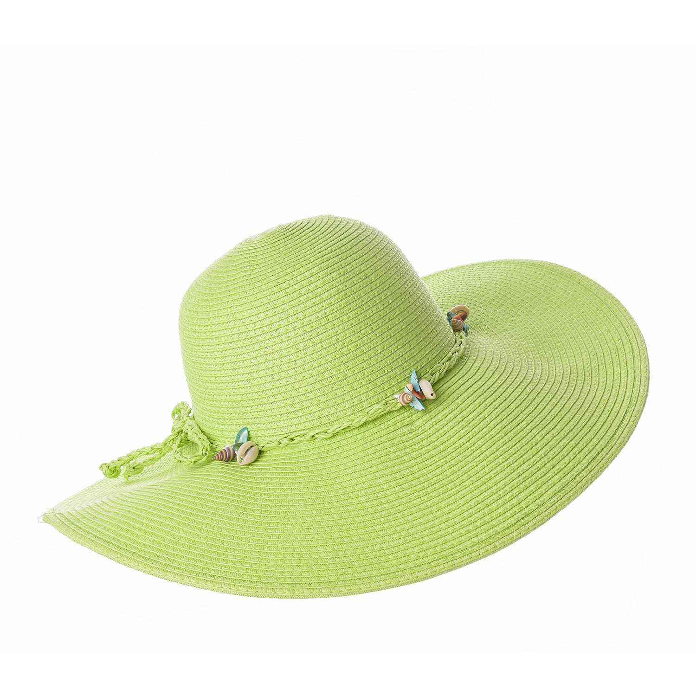 Sombrero de Mujer Platanitos Verde t7-38