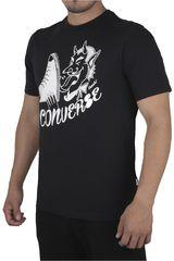 Converse Negro de Hombre modelo SEASONAL SNEAK GRAPHIC Casual Polos