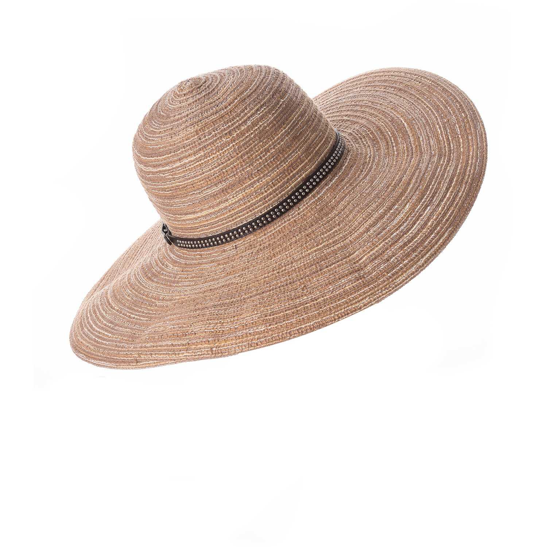 Sombrero de Mujer Platanitos Beige t7-43