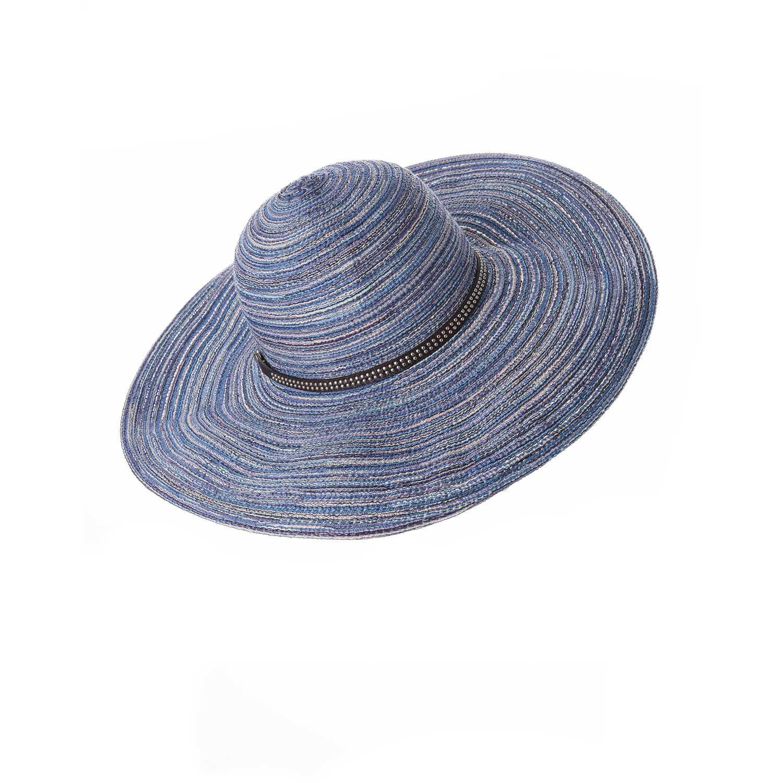 Sombrero de Mujer Platanitos Azul t7-43
