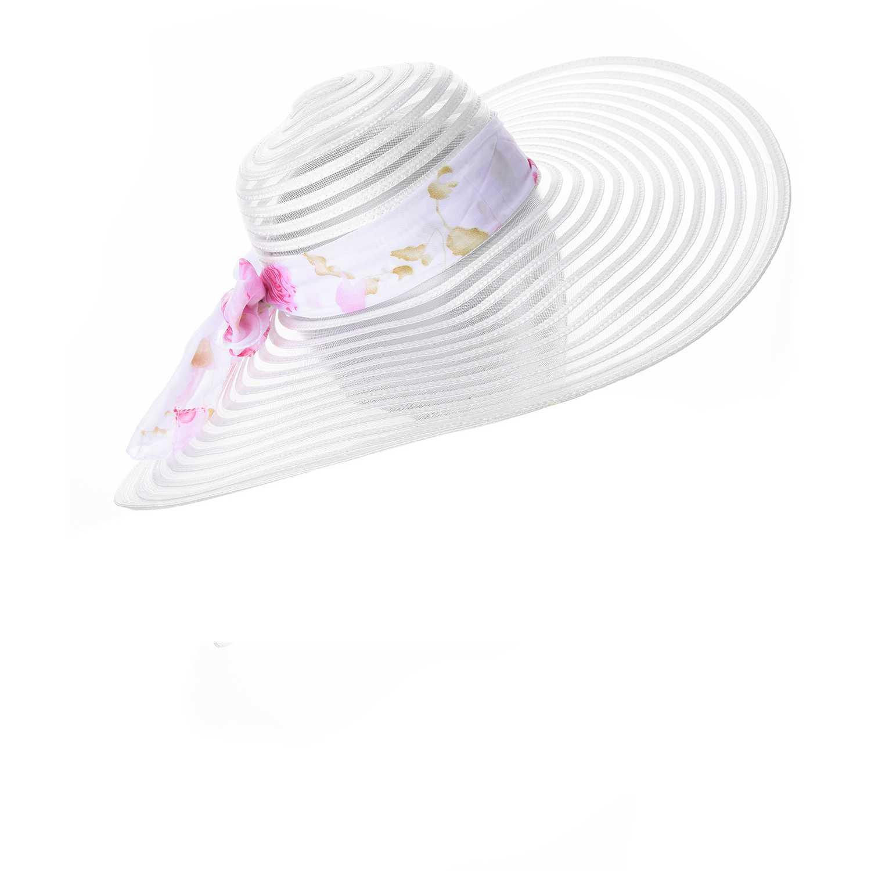 Sombrero de Mujer Platanitos Blanco tw4-18-4
