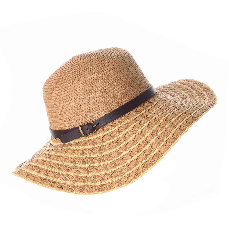 Sombrero de Mujer Platanitos Marron t4-26