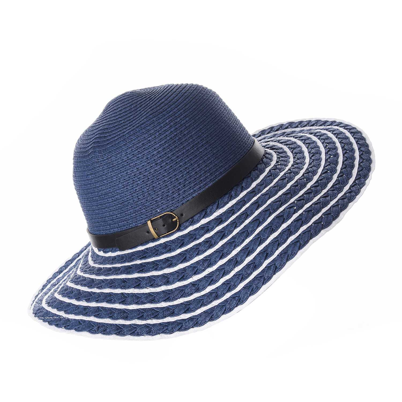 Sombrero de Mujer Platanitos Azul t4-26