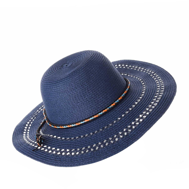 Sombrero de Mujer Platanitos Azul t7-109