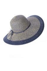 Sombrero de Mujer Platanitos Azul T7-53