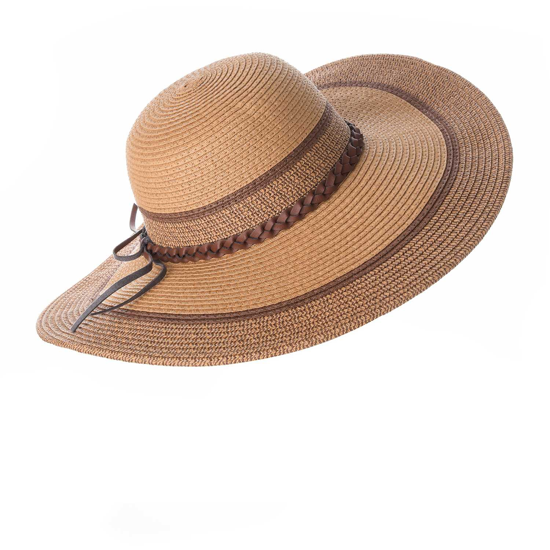 Sombrero de Mujer Platanitos Marron t7-3