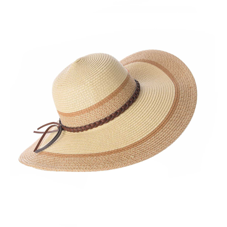 Sombrero de Mujer Platanitos Natural t7-3