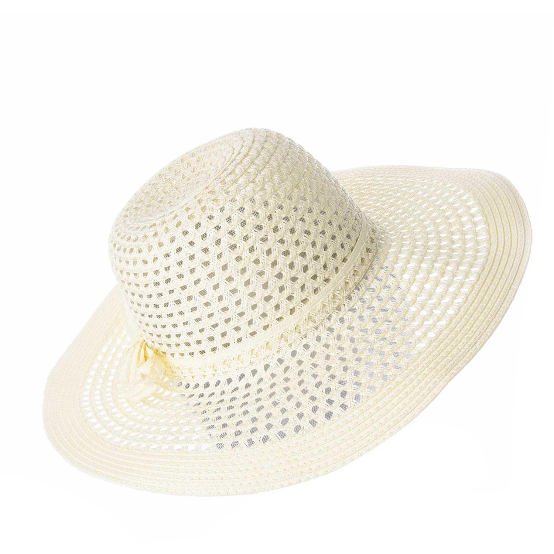 Sombrero de Mujer Platanitos Marfil t7-114-a
