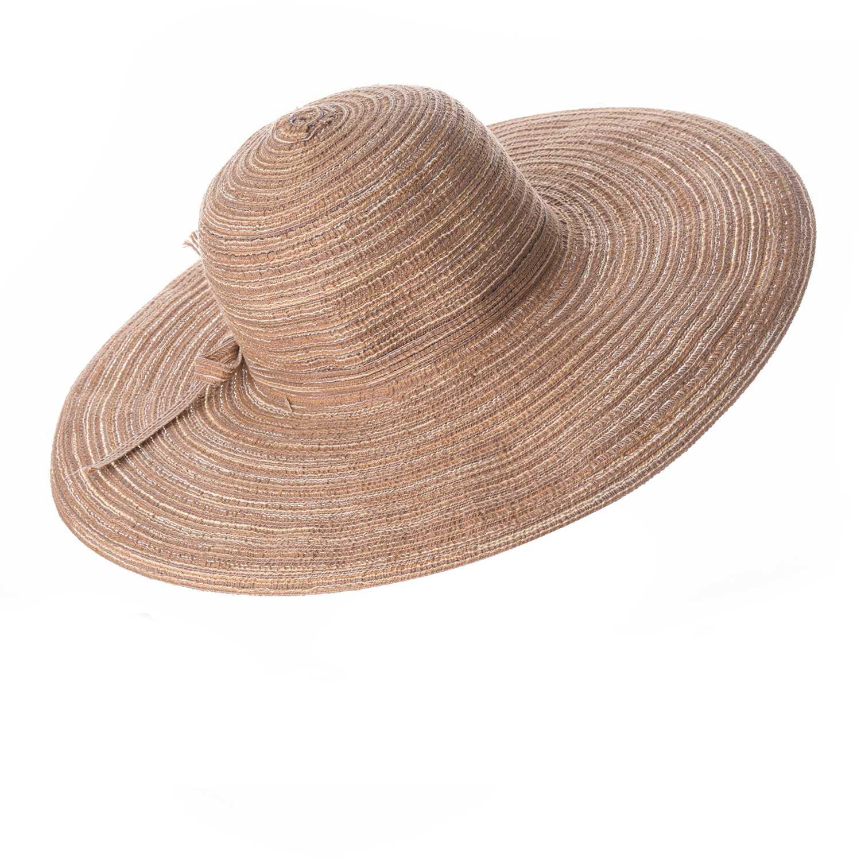 Sombrero de Mujer Platanitos Marron t7-48-a
