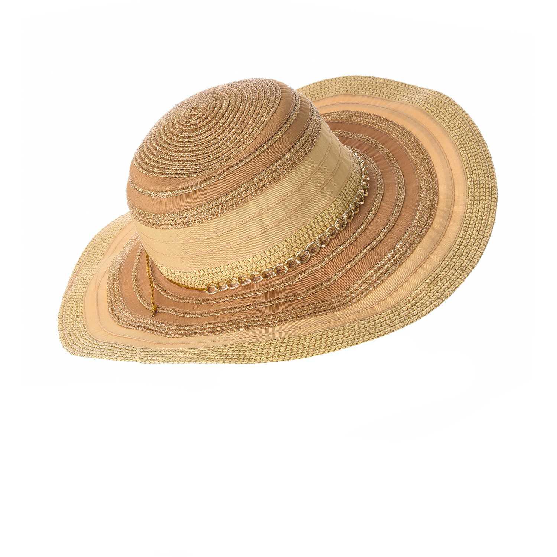 Platanitos Dorado de Mujer modelo T148 Casual Sombreros d587813267a