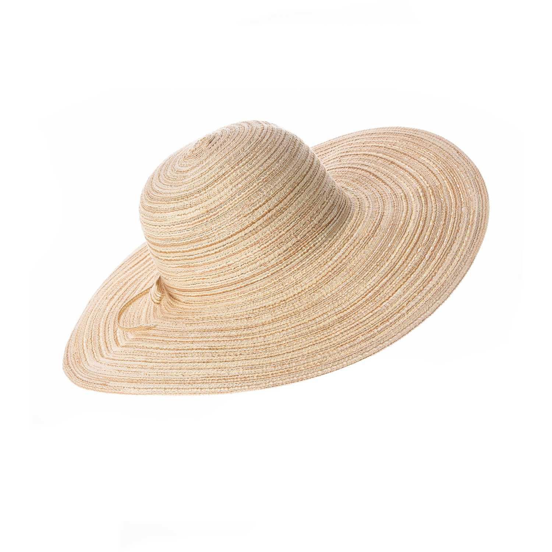 Sombrero de Mujer Platanitos Beige t7-48-a