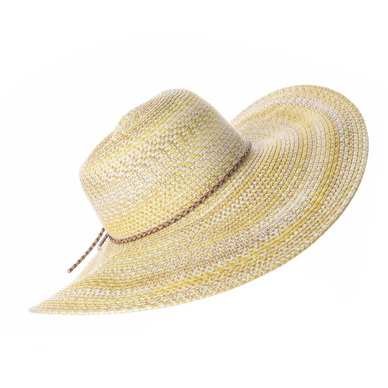 Sombrero de Mujer Platanitos Beige t7-6