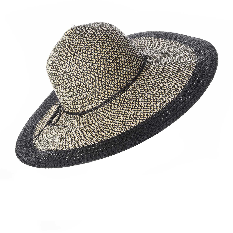Platanitos Negro de Mujer modelo T7-53 Sombreros Casual 3506f4b20f0