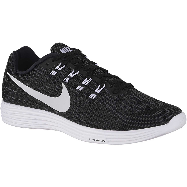 Zapatilla de  Hombre Nike Negro  de Blanco lunartempo 2 899c39