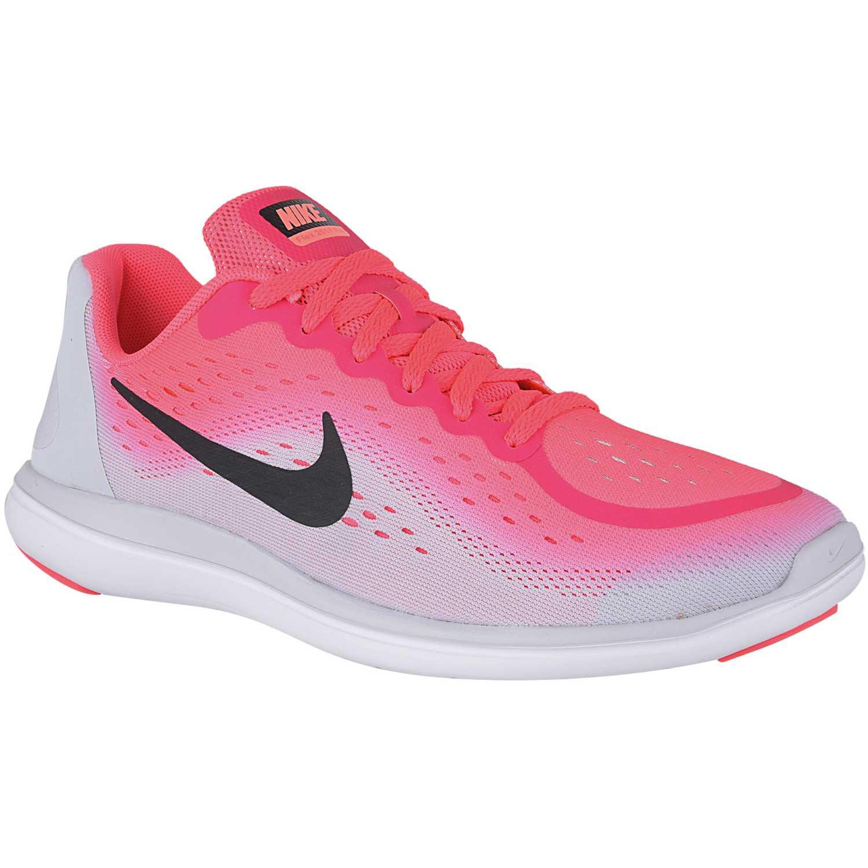 new product fca8e 598ff Zapatilla de Jovencita Nike Blanco / rosado flex 2017 rn gg ...