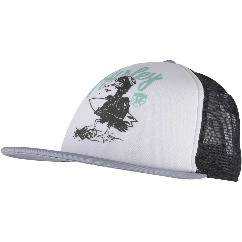 Gorro de Hombre Hurley Blanco / negro all day hats trucker
