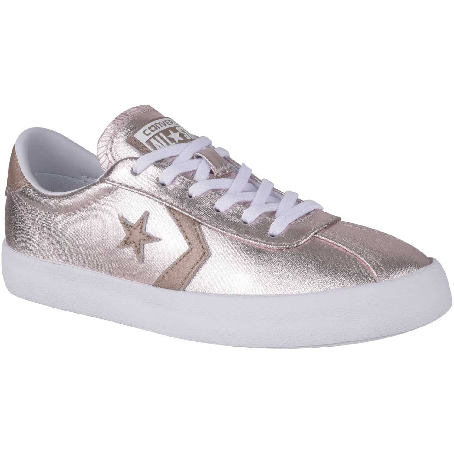 5f10b21fe71 Zapatilla de Jovencita Converse Rose gold break point metallic ...