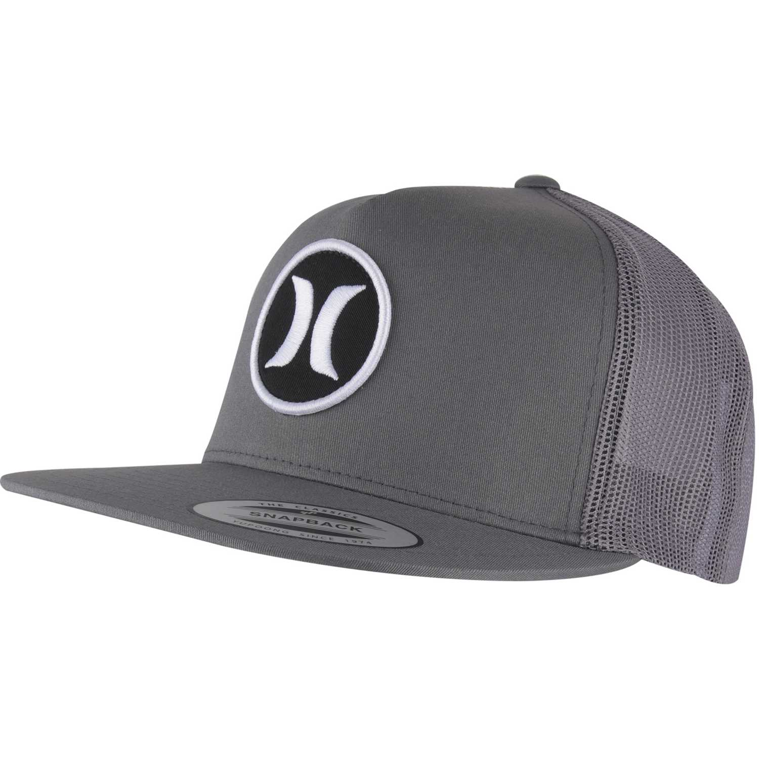 new product 039ae 29663 ... best price gorro de hombre hurley gris block party hats 6f4d8 abdd7