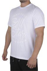 Converse Blanco de Hombre modelo SEASONAL ILLUSTRATION GRAPHIC Casual Polos
