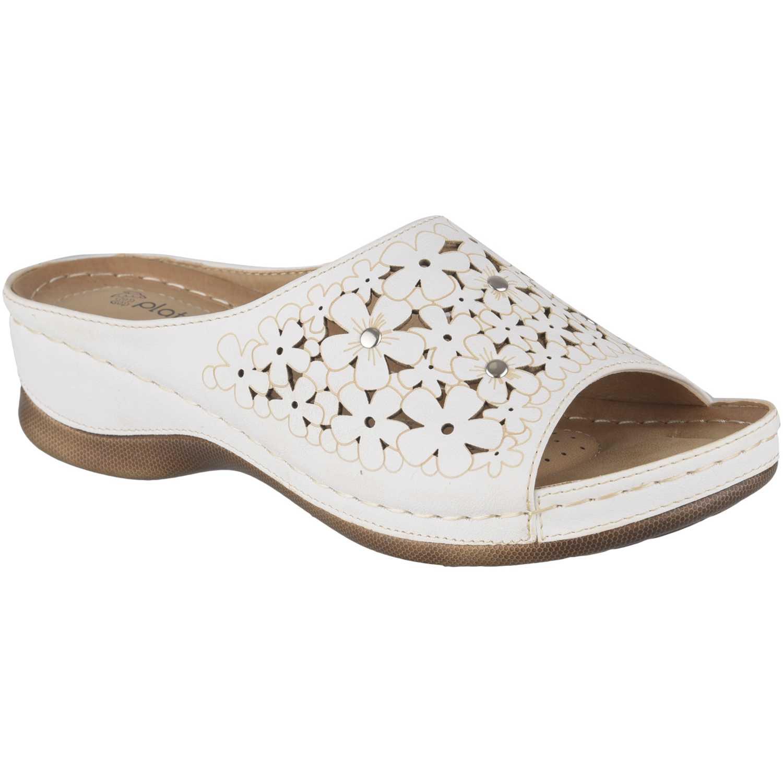Sandalia de Mujer Platanitos Blanco sct-57826