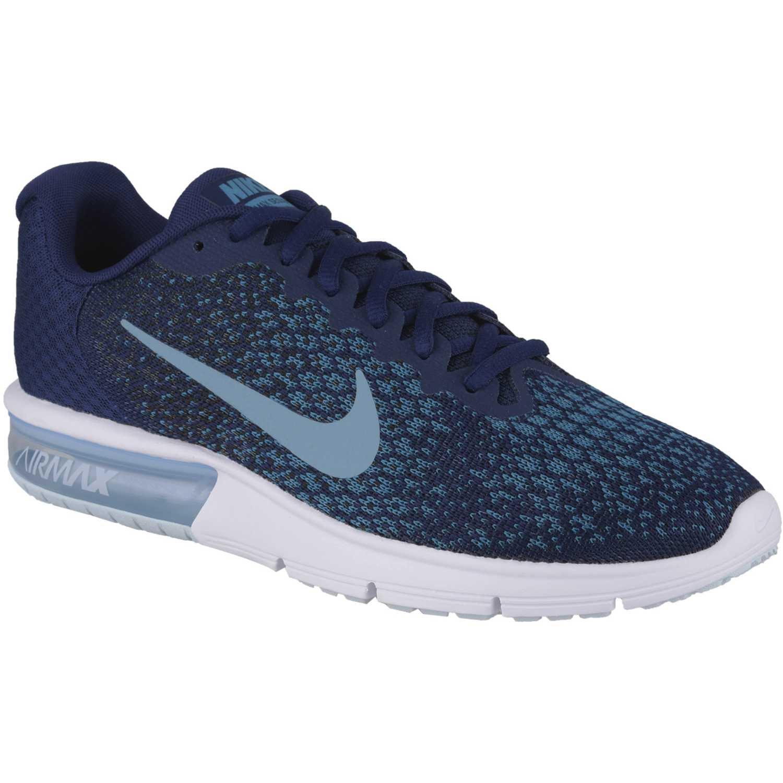 super popular 5f094 5bb49 Zapatilla de Hombre Nike Azul petróleo air max sequent 2