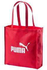 Bolso de Mujer Puma Rojo / blanco CORE SHOPPER
