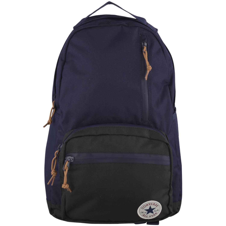 d7715c67f Mochila de Hombre Converse Morado   Negro go backpack charcoal ...