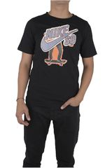 Nike Negro de Jovencito modelo SB SKATER MASHUP TEE Deportivo Polos