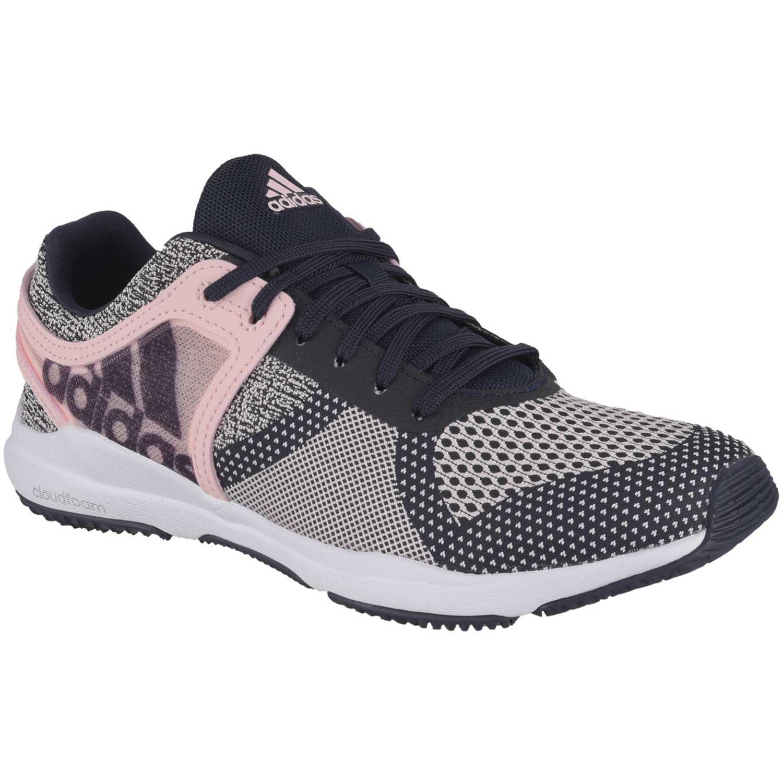size 40 1d96c e9553 Zapatilla de Mujer Adidas Azul  rosado crazytrain cf w