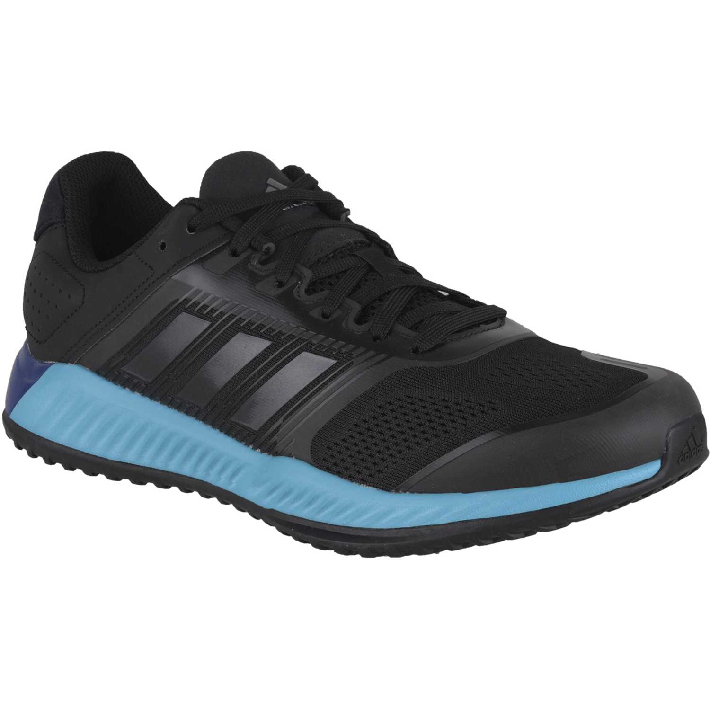 Zapatilla de Hombre Adidas Negro / celeste zg bounce m