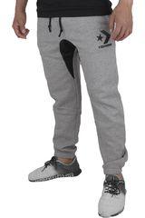 Converse Gris de Hombre modelo STAR CHEVRON JOGGER Casual Pantalones